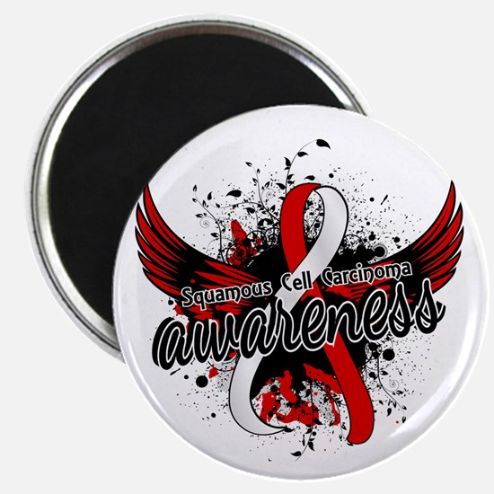 Squamous Cell Carcinoma Awareness 16 Magnet