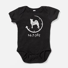 Norwegian Buhund Baby Bodysuit