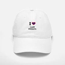 I love Gary Indiana Baseball Baseball Cap