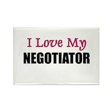 I Love My NEGOTIATOR Rectangle Magnet