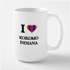 I love Kokomo Indiana Mugs