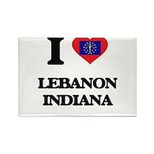 I love Lebanon Indiana Magnets