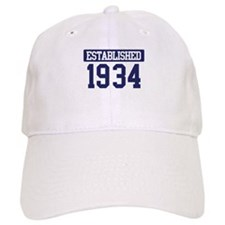 Established 1934 Baseball Cap
