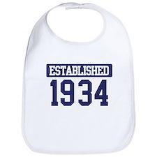 Established 1934 Bib