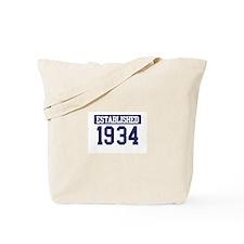 Established 1934 Tote Bag