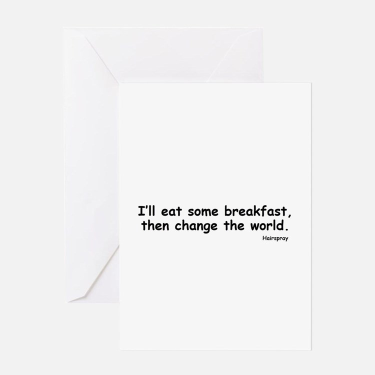 Change the World Greeting Cards