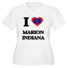 I love Marion Indiana Plus Size T-Shirt