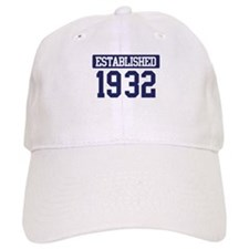 Established 1932 Baseball Cap