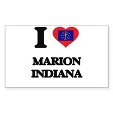 I love Marion Indiana Decal