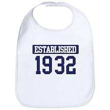 Established 1932 Bib