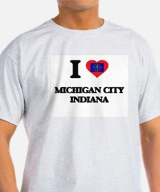 I love Michigan City Indiana T-Shirt