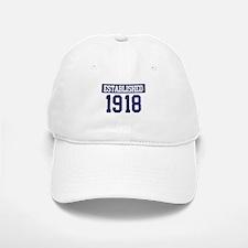 Established 1918 Baseball Baseball Cap