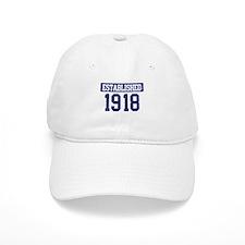 Established 1918 Baseball Cap