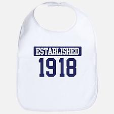 Established 1918 Bib