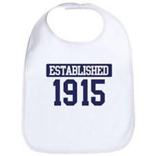 Established 1915 Bib