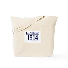 Established 1914 Tote Bag