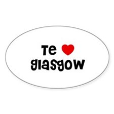 Te * Glasgow Oval Decal