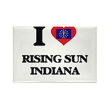 I love Rising Sun Indiana Magnets