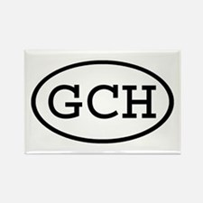 GCH Oval Rectangle Magnet