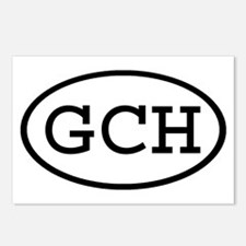 GCH Oval Postcards (Package of 8)