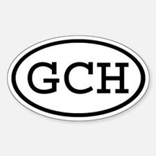 GCH Oval Oval Decal