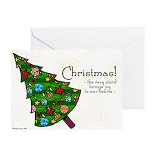 Christmas tree Greeting Cards (Pk of 20)