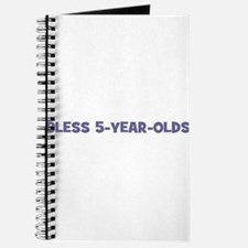 Bless 5-Year-Olds Journal