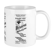 Reading Railroad System 1894 Mug