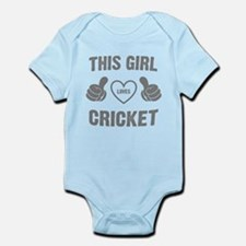 THIS GIRL LOVES CRICKET Body Suit