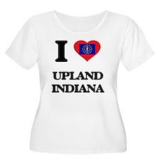 I love Upland Indiana Plus Size T-Shirt
