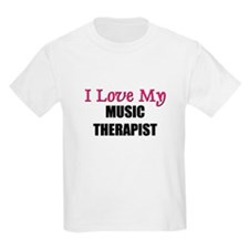 I Love My MUSIC THERAPIST T-Shirt
