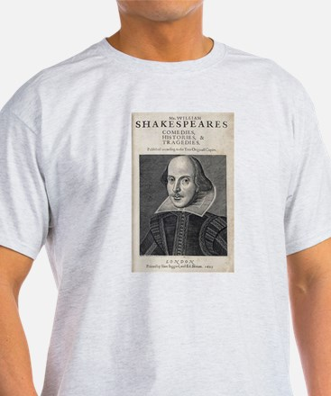 William Shakespeare Portrait T-Shirt