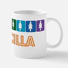 Lesbian Priscilla Mug