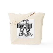Antique Vintage Mechanical Sewing Machine Tote Bag