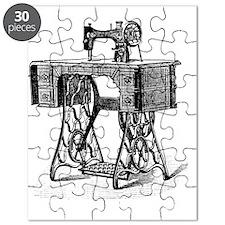 Antique Vintage Mechanical Sewing Machine Puzzle