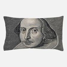 William Shakespeare Portrait Pillow Case