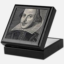 William Shakespeare Portrait Keepsake Box
