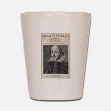 William Shakespeare Portrait Shot Glass