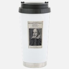 William Shakespeare Por Stainless Steel Travel Mug