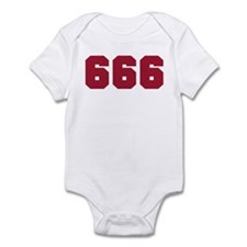 666 Infant Bodysuit