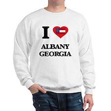 I love Albany Georgia Sweatshirt