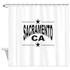 Sacramento CA Shower Curtain