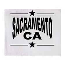 Sacramento CA Throw Blanket