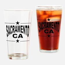 Sacramento CA Drinking Glass