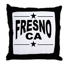 Fresno CA Throw Pillow