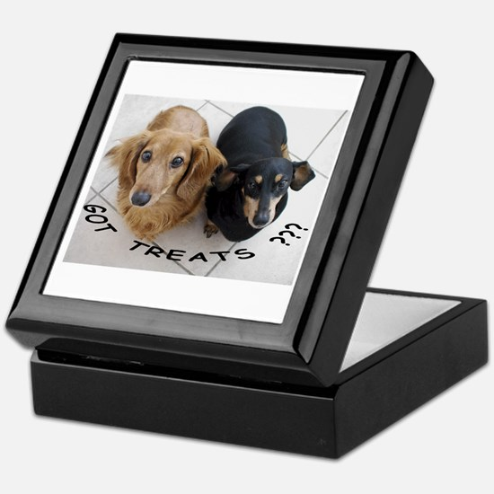 Got Treats ??? Keepsake Box