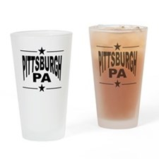Pittsburgh PA Drinking Glass