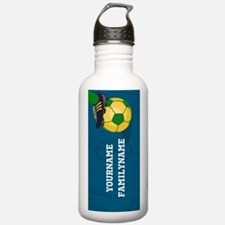 Personalized Soccer Br Water Bottle
