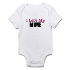 I Love My MIME Infant Bodysuit