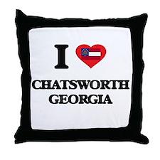 I love Chatsworth Georgia Throw Pillow